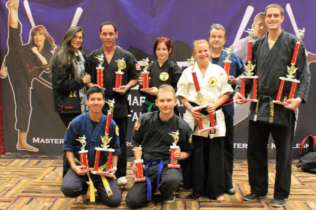 Kung Fu und Samurai Gewinner