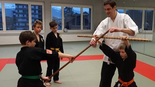 Das Training zum Kung Fu Panda beginnt