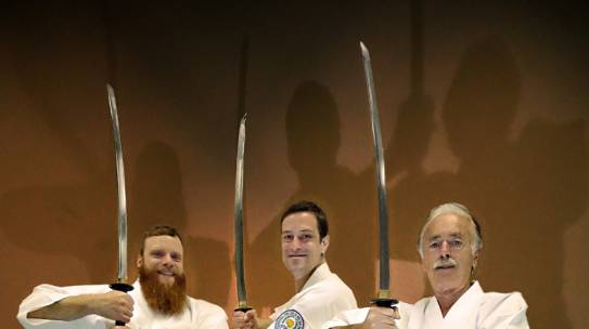 Die drei Musketiere im Dae Ryeon Do Samurai