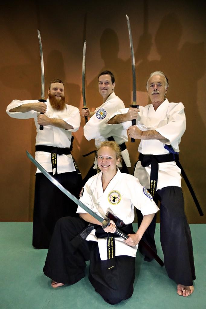 Die drei Musketiere von Dae Ryeon Do Samurai