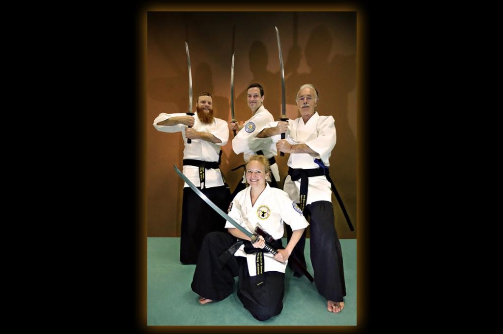 Samurai Kampfkunst Schwarzgürte