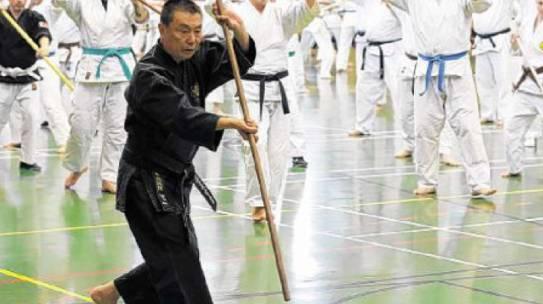 Ryukyu Kobudo Seminar, 11. März 2017