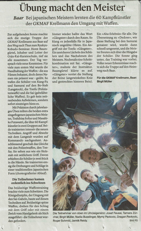 Thunseminar_Zeitungsbericht