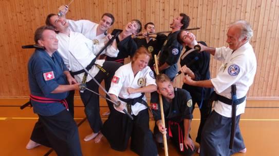 Samurai kennt kein Alter