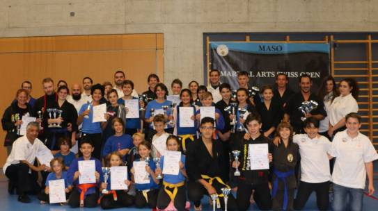 Martial Arts Swiss Open 2017