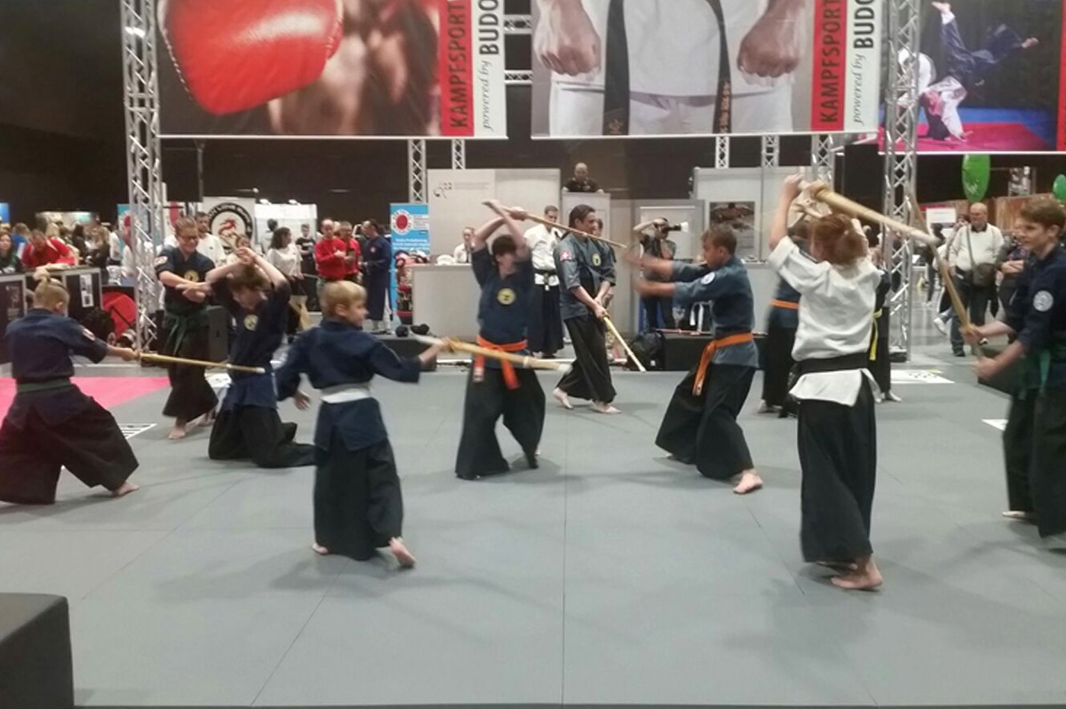 Samurai Demo – at the FitnessExpo in Basel