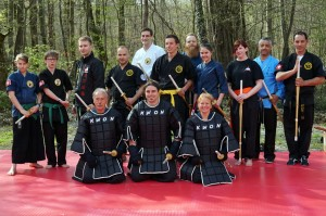 2015-04 München Hall of Honours Dae Ryeon Do Samurai Seminar